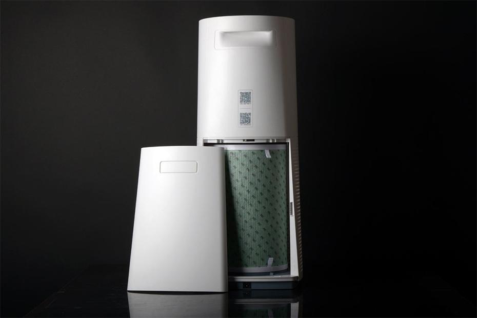 立式空气净化器展示