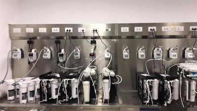 净水器试水