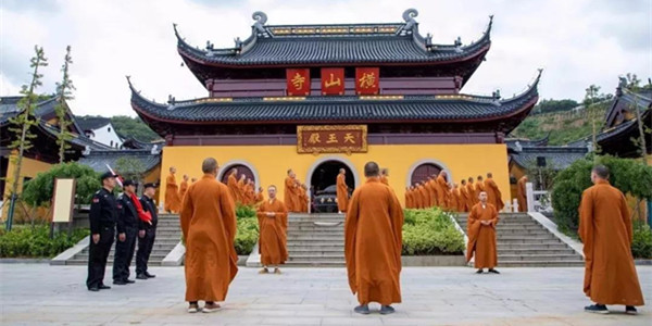 无锡横山寺在寺中茶室安装浩泽直饮净水机